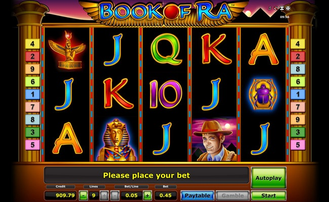 Book Of Ra Poker